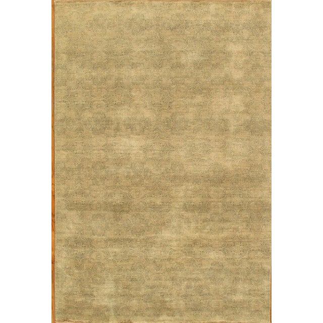 Pasargad Modern Collection Rug - 6'x9' - Image 1 of 1