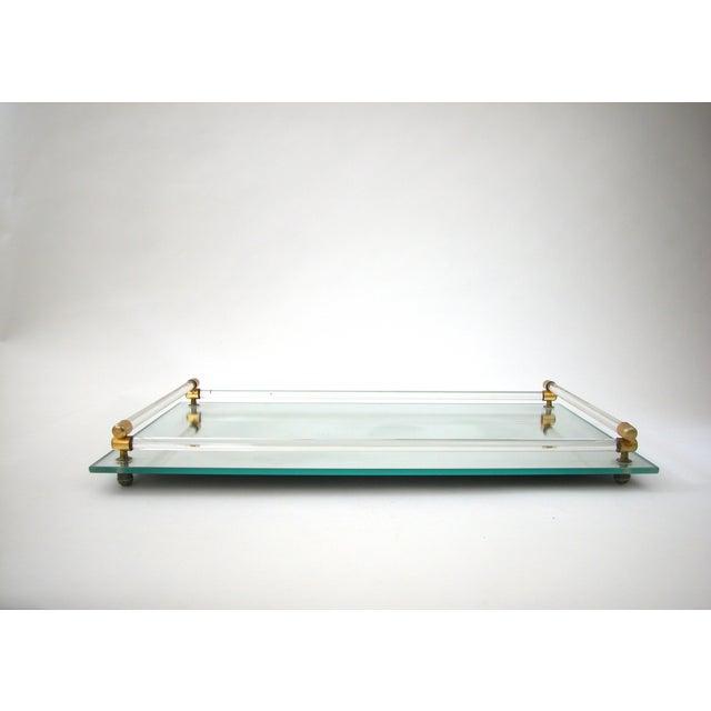 Glass Mirrored Vanity Tray - Image 2 of 9