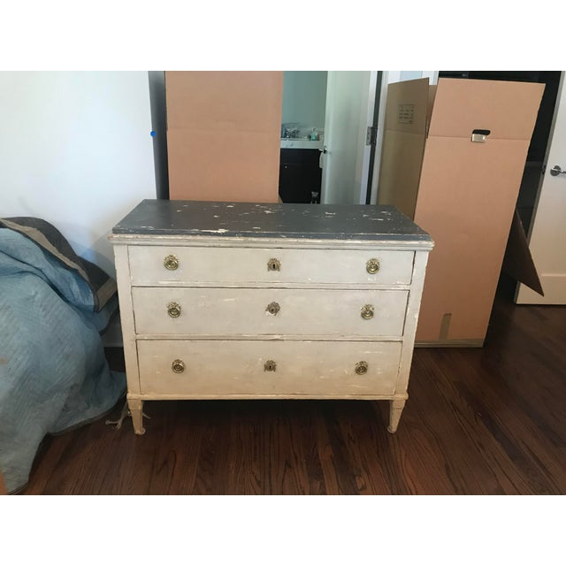 Late 20th Century Vintage Gustavian Chest For Sale - Image 12 of 12
