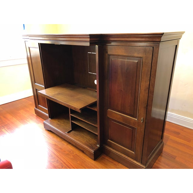 Grange Louis-Philippe Entertainment Center/Armoire For Sale In Denver - Image 6 of 11