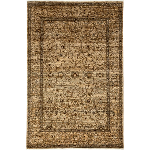 "Gabbeh Hand Knotted Area Rug - 6'7"" X 9'9"" - Image 2 of 3"