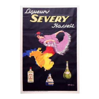 Belgian Vintage Severy Poster by Roger Berckmans, 1920s