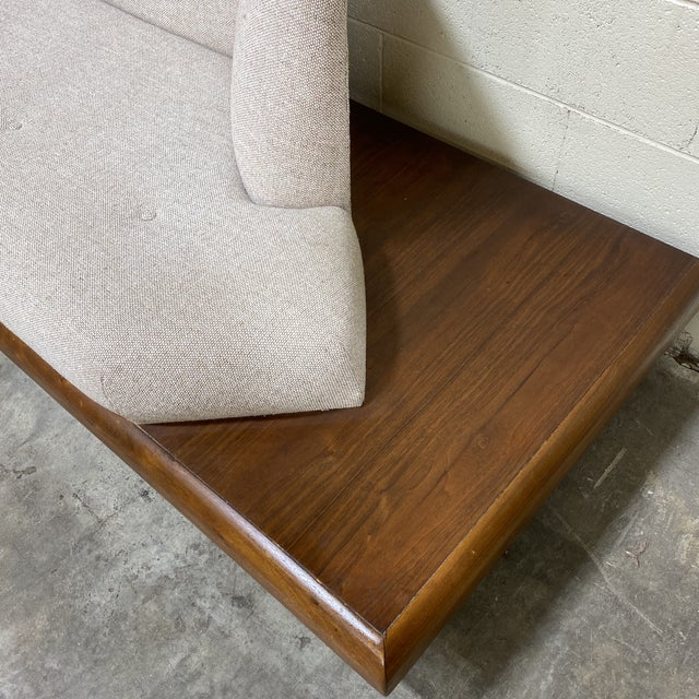Adrian Pearsall Adrian Pearsall Platform Sofa For Sale - Image 4 of 12