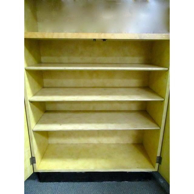 Burlwood Bar Liquor Cabinet - Image 4 of 5