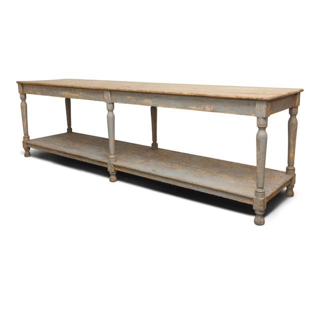 Massive French Drapers Table For Sale - Image 11 of 11