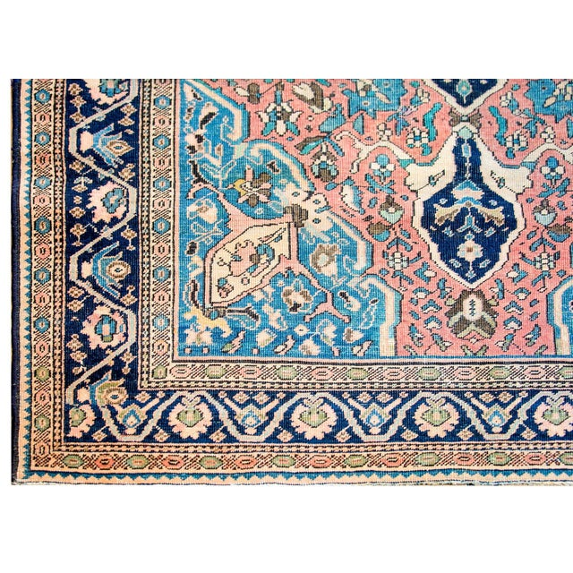 Exquisite Late 19th Century Sarouk Farahan Rug For Sale - Image 4 of 7