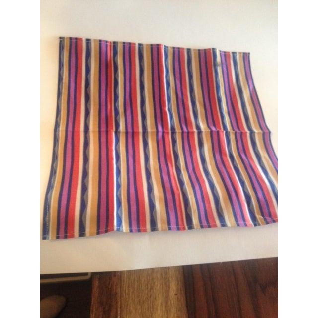 Missoni Striped Home Napkins - Set of 4 - Image 5 of 6