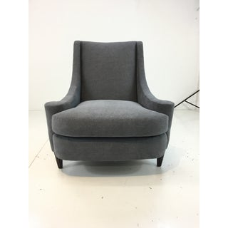Barbara Barry for Henredon Modern Gray Joan Chair and Ottoman Preview