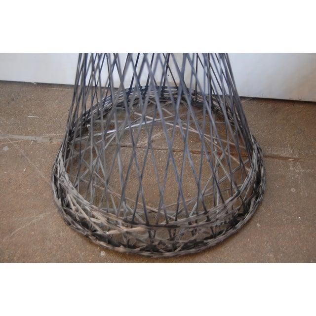 Mid-Century Spun Fiberglass Floor Plant Stand - Image 5 of 6