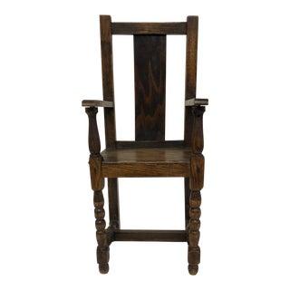 Miniature Wooden Chair
