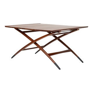 Adjustable Three-Height Coffee or Dining Table by Edward Wormley for Dunbar For Sale