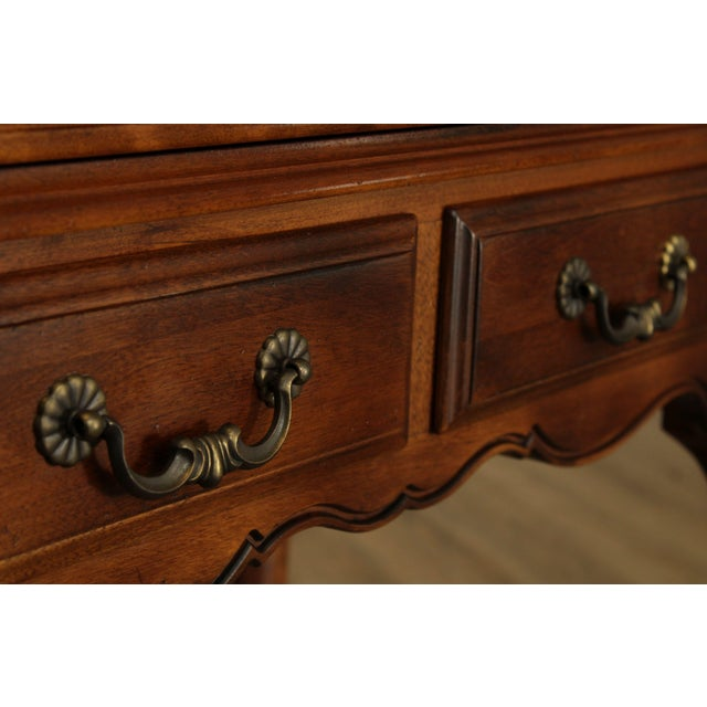 Ethan Allen Country French Slant Front Writing Desk For Sale - Image 9 of 13