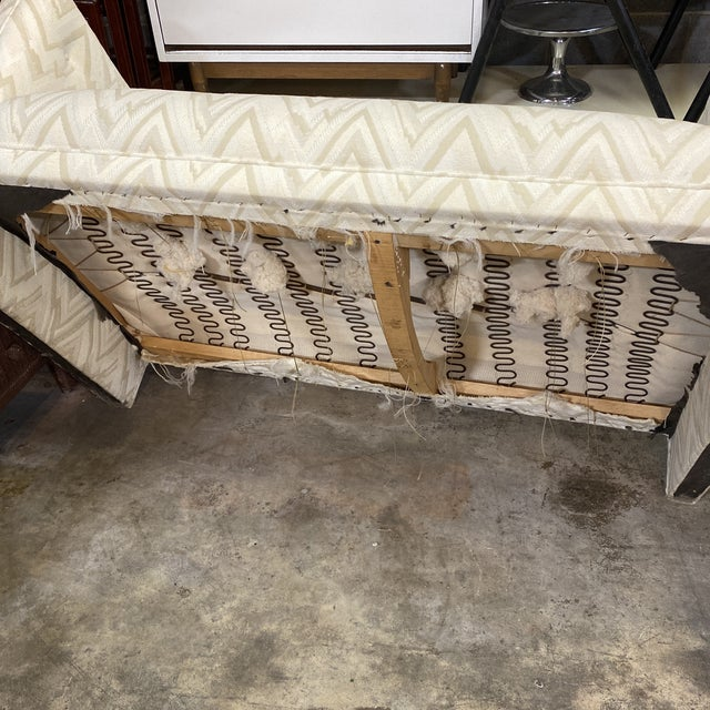 70s Contemporary Loveseats - a Pair For Sale - Image 12 of 13
