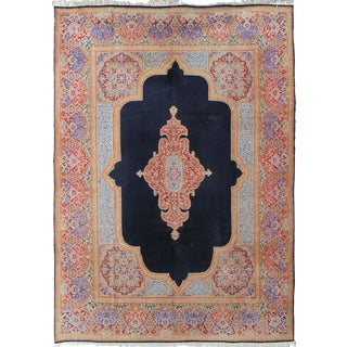 "Antique Hand-Knotted Persian Kerman- 9' 2"" x 13' 1"""