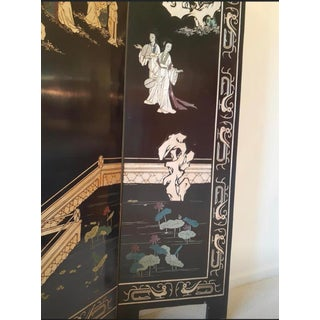 Vintage Chinoiserie Folding Screen Preview
