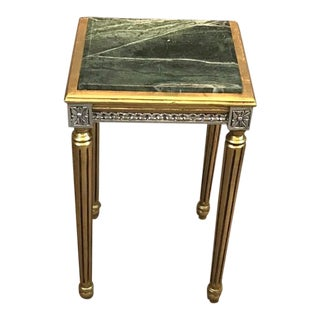 Louis XVI End Table, Antique Vintage Furniture Reproduction, Victorian French Furniture For Sale