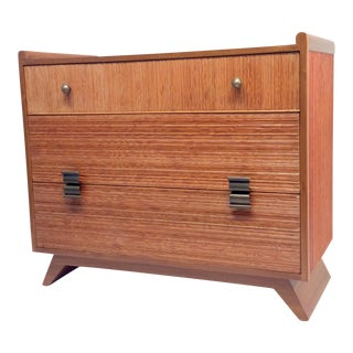 1950s Mid-Century Modern Paul Frankl for Brown Saltman Comb Wood Dresser For Sale