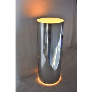 1960s Mid-Century Modern George Kovacs Chrome Cylinder Table Lamp Preview