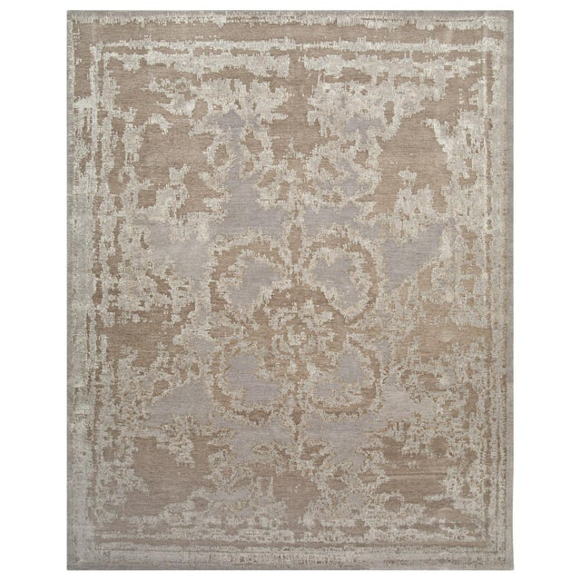 From our Legacy Collection, this is a handmade Tibetan rug. Customization of size, color and shape is available. Standard...