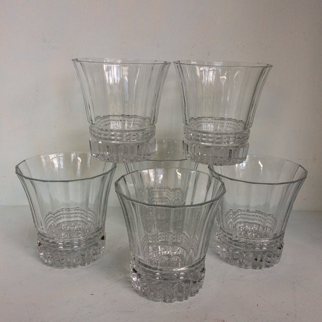 Cristal d'Arques-Durand Victoria Double Old Fashion Glasses - Set of 6 For Sale - Image 13 of 13