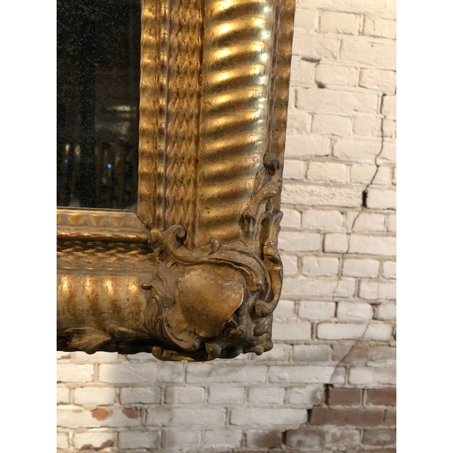 Early 19th Century Stunning Early 19th Century Mirror For Sale - Image 5 of 10
