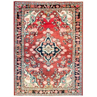 Amazing Early 20th Century Mahal Rug For Sale