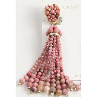 Kendra Scott Cecily Pink Rhodonite Gemstone Earrings Preview