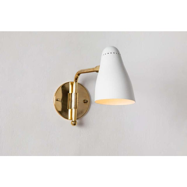 1950s Giuseppe Ostuni Articulating Arm Sconces for O-Luce - a Pair For Sale - Image 9 of 13