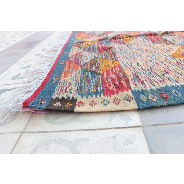 "Aknif Moroccan Rug - 3'6"" x 6'8"" - Image 3 of 4"