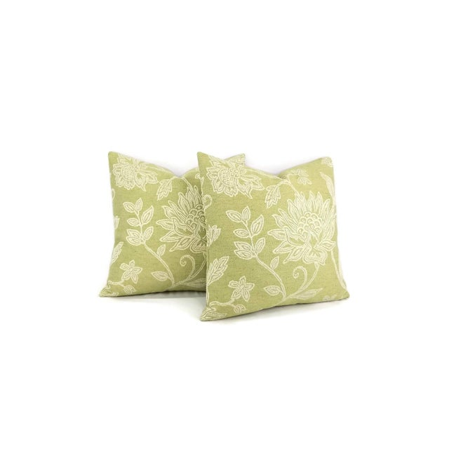 Traditional Colefax and Fowler Kenrick Floral Jacquard Pillow Cover For Sale - Image 3 of 6