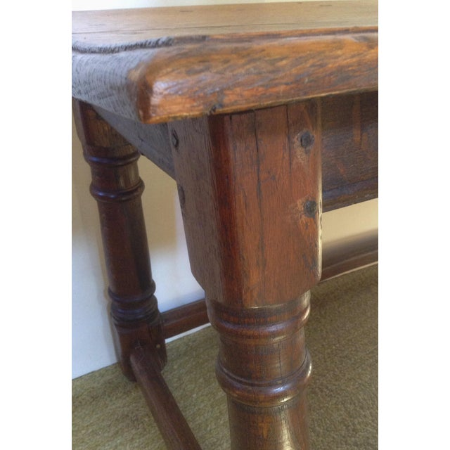 19th C. American Table / Bench For Sale In San Francisco - Image 6 of 7