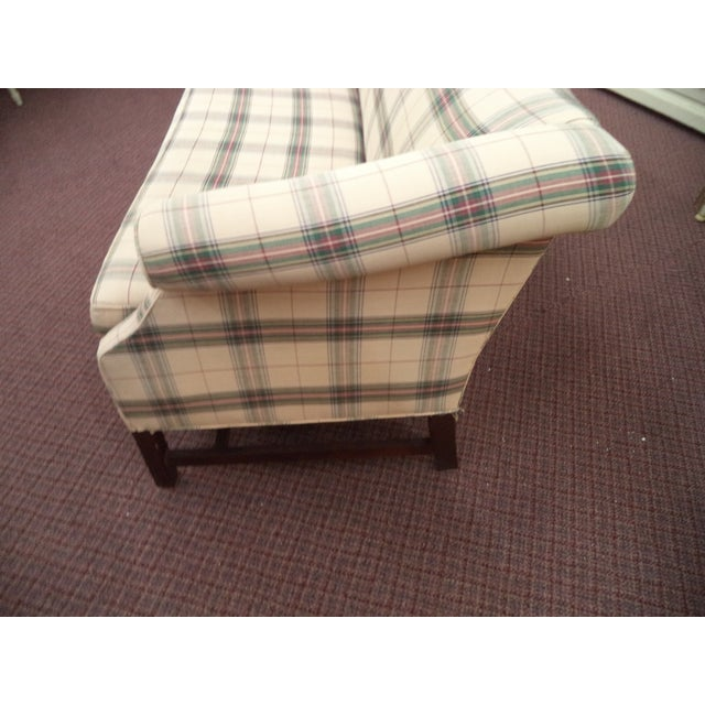 Paul Robert Chippendale Style Camelback Sofa For Sale - Image 4 of 9