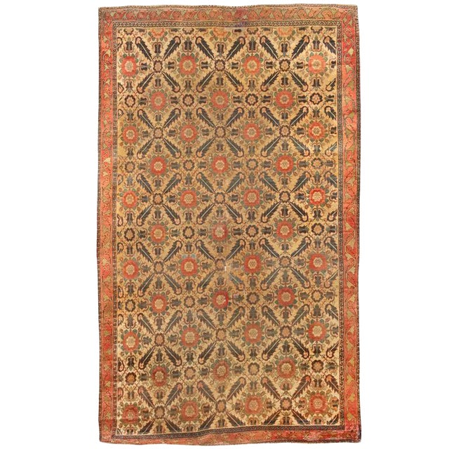 Antique Early 19th Century North West Persian Carpet For Sale