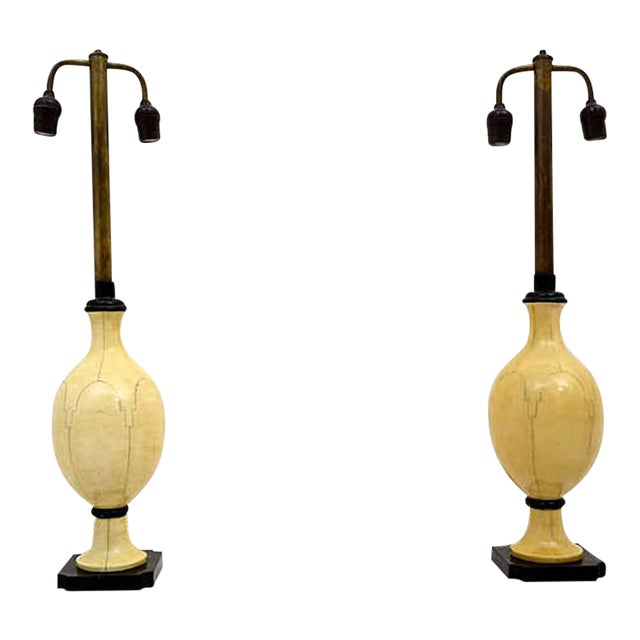 Pair of Christian Fersen Table Lamps For Sale