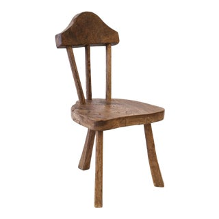 Vernacular Stick Back Chair For Sale