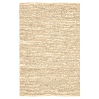 Jaipur Living Havana Natural Solid Beige Area Rug - 2′ × 3′ For Sale