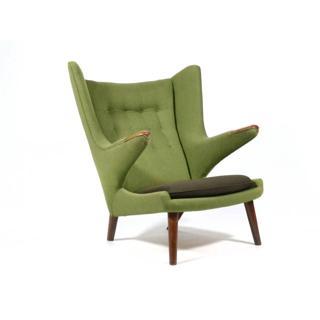 Hans Wegner Papa Bear Chair For Sale - Image 10 of 11