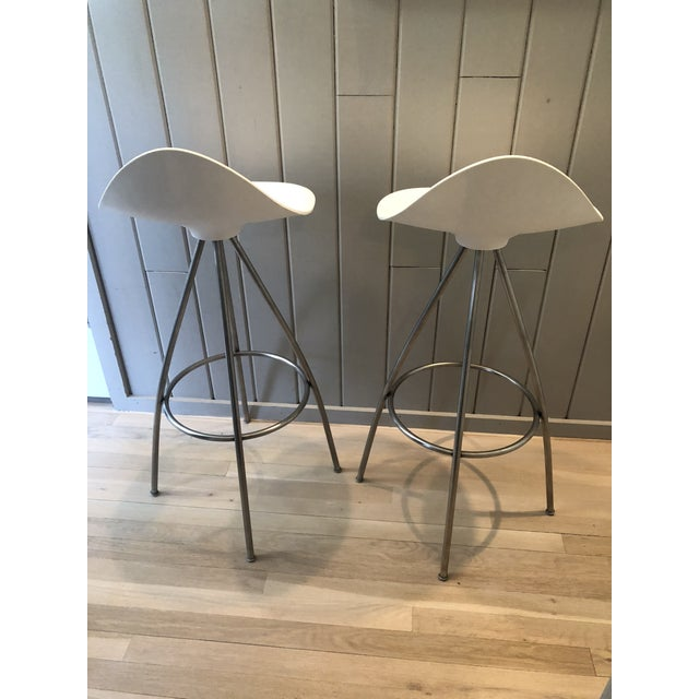 Metal Jesús Gasca for Stua Onda Bar Stools - a Pair For Sale - Image 7 of 10