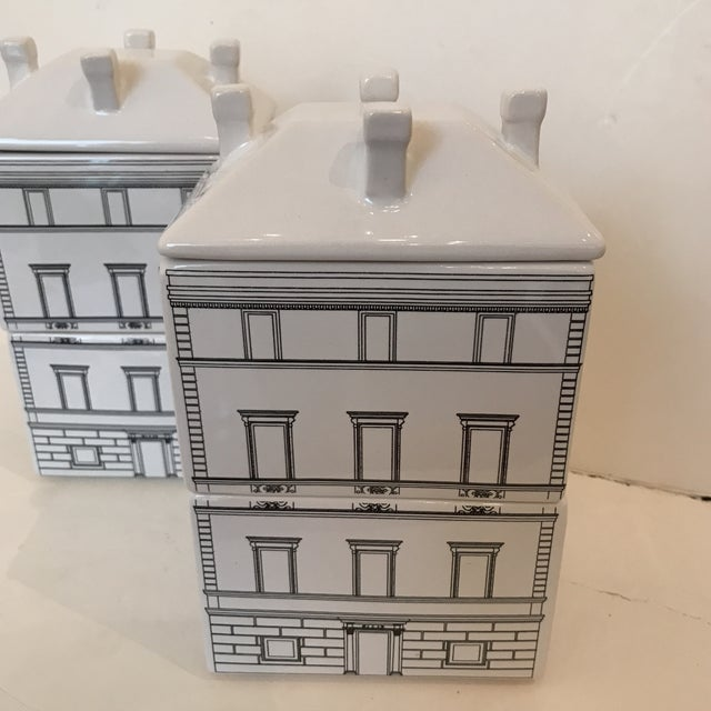 Architectural Canisters - a Pair - Image 3 of 5