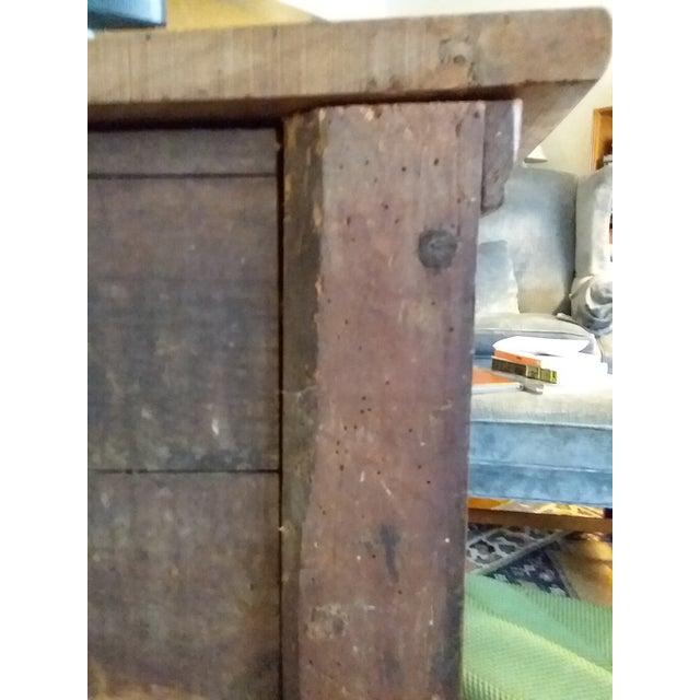 Wood Antique Beidermeier Fruitwood Bureau For Sale - Image 7 of 13