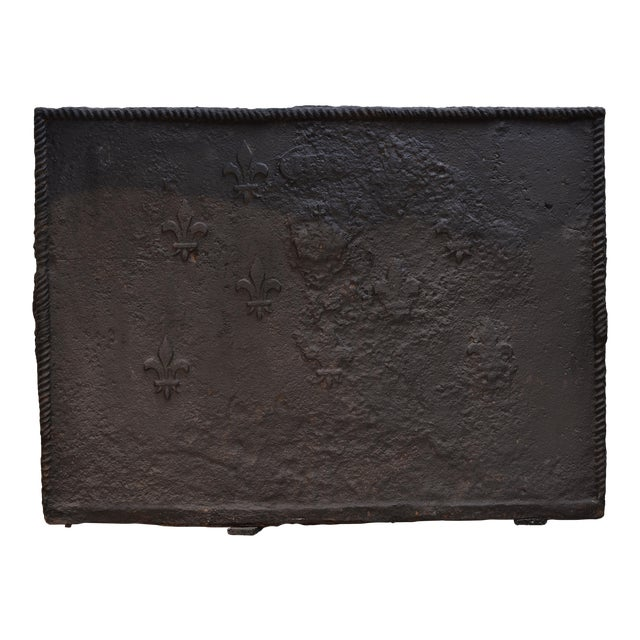 Amazing Rough 18th Century Fireback For Sale