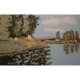 "Image of ""Reflections"" Limited Edition Serigraph Signed and Numbered by Frederick McDuff For Sale"