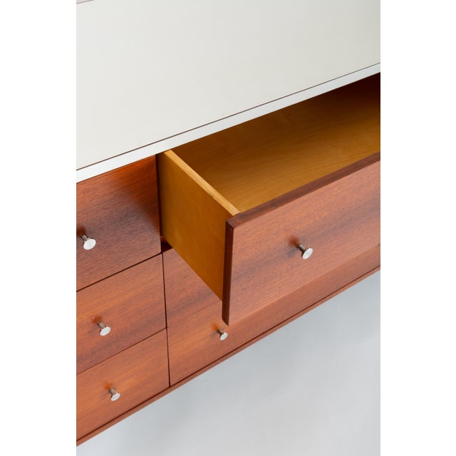 Gerald McCabe Twelve-Drawer Dresser With Laminate Top For Sale - Image 11 of 13