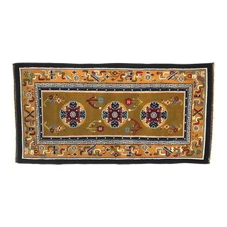 Oriental Wool Rug - 3′ × 5′10″ For Sale