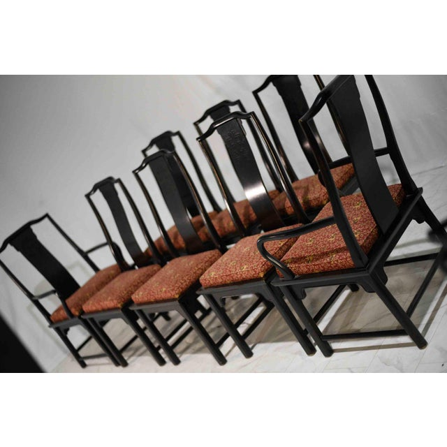 Century Furniture 1970s Chinoiserie Raymond Sobota Asian Dining Chairs by Century - Set of 8 For Sale - Image 4 of 12