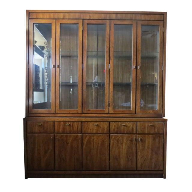 Beveled Glass China Display Cabinet - Image 1 of 7
