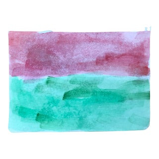 Abstract Landscape Watercolor 2015 For Sale