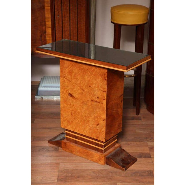 Art Deco Pair of French Art Deco Side Tables For Sale - Image 3 of 10