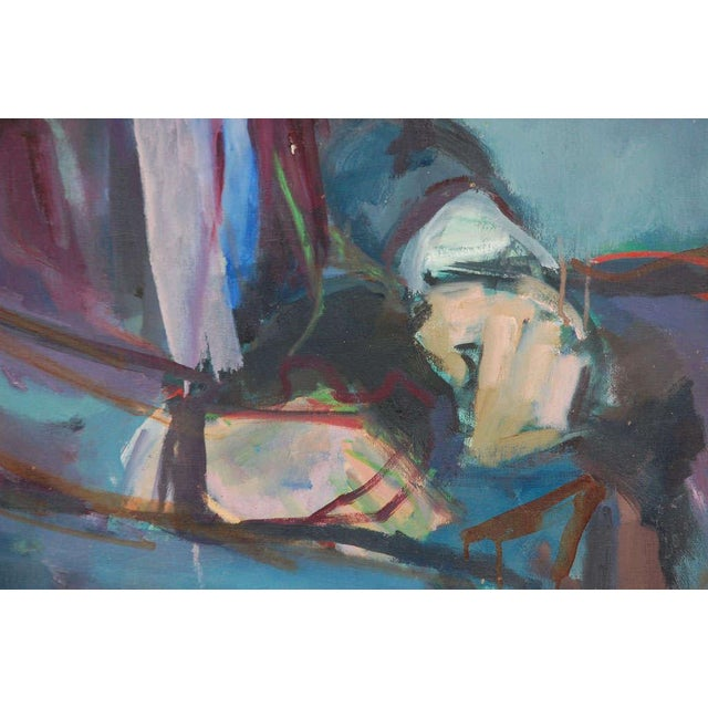 Impressionism Portrait Painting, Circa 1960 For Sale - Image 3 of 8