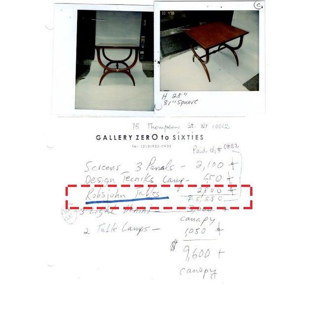 1960s Vintage Robsjohn-Gibbings Side Tables - a Pair For Sale - Image 11 of 11